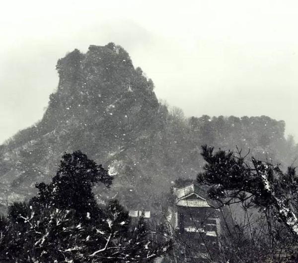 武当山雪景,如梦似幻